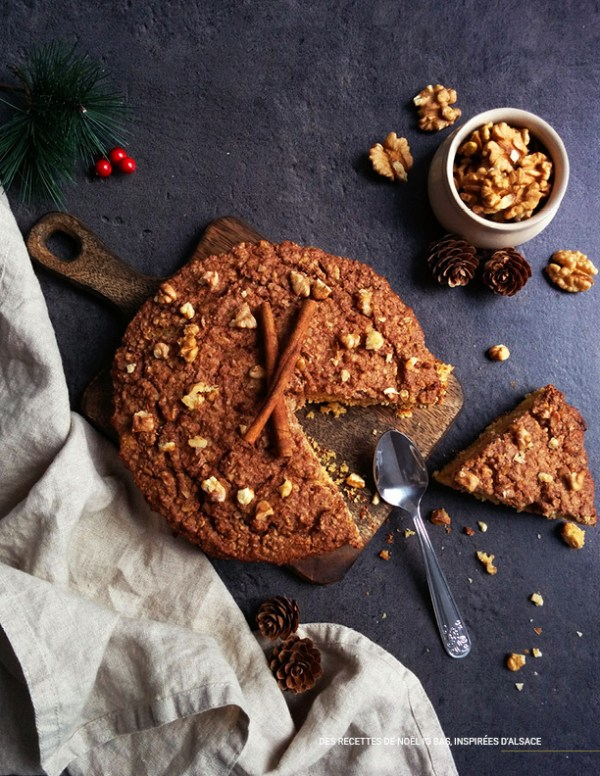 Ropfkueche _ Ebook 30 recettes de Noël à IG bas
