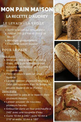 Mon pain maison, les secrets de la réussite d'Audrey