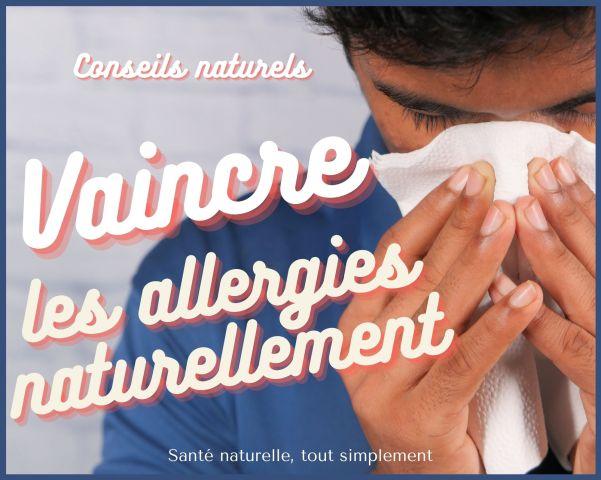 Allergies respiratoires : conseils naturels