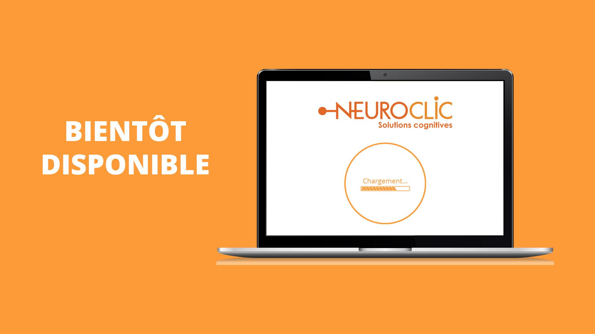 Plateforme Neuroclic pour orthophonistes bientôt disponible