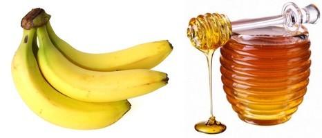 Banane, miel et eau: une combinaison naturelle contre la toux chronique