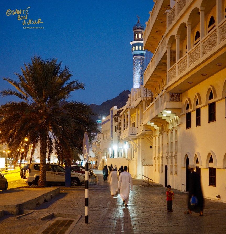 Travel In Pictures: 7 Must-sees in Muscat – 1. Mutrah Corniche, Muscat