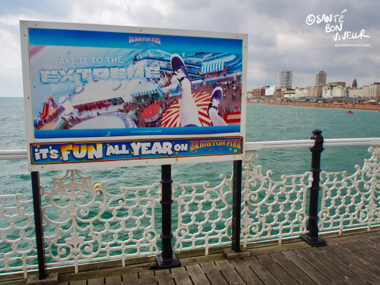 It's fun all year on Brighton Pier!