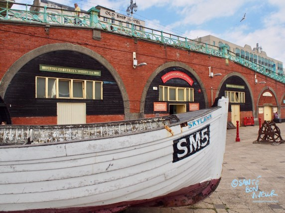 Brighton's King's Road Arches: the Fishing Quarter