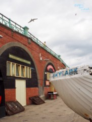 Brighton King's Road Arches: the Fishing Quarter