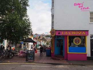 Mexican street food in the North Laine - I haven't tried this place yet. Have you?