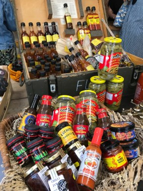 Chilli heaven in the Spice Shop at 10 Gardner Street