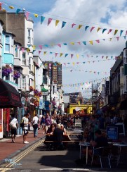 Gardner Street is one of the main happening streets in the North Laine