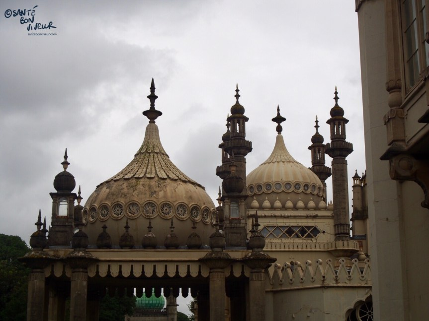 The Royal Pavilion on a grey day, Brighton, 2017