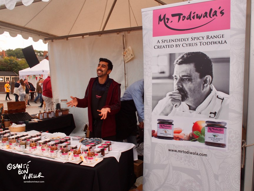 Mr Todiwala's Indian Spice Stall, Abergavenny Food Festival, Wales, UK, 2017