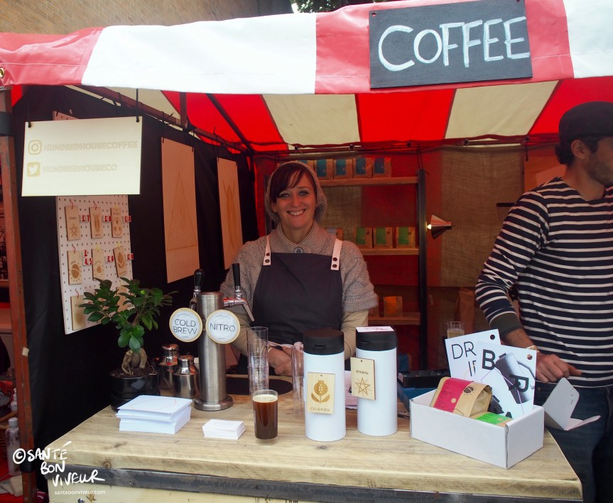 Anabelle de Gersigny, Hundred House Coffee Stall, Abergavenny Food Festival, Wales, UK, 2017