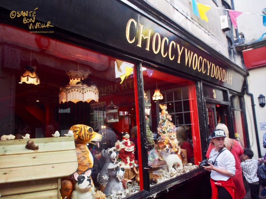 Choccywoccydoodah's Shopfront - The Lanes, Brighton