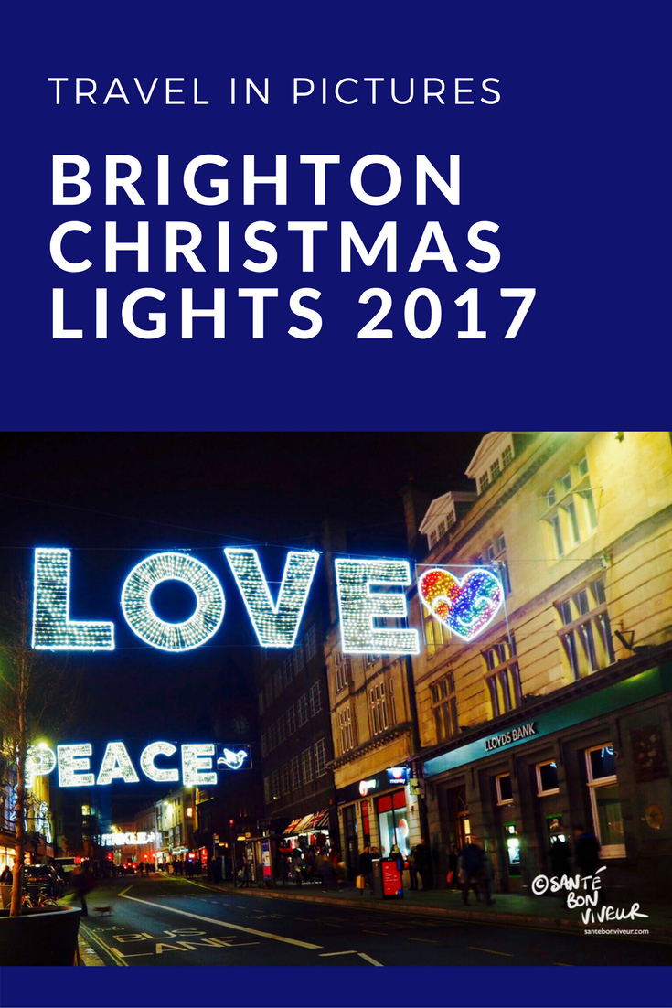 travel in pictures christmas special brightons christmas lights 2017