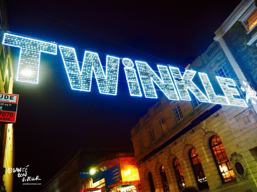 Twinkle, Christmas Lights, North Street, Brighton, England, UK, 2017