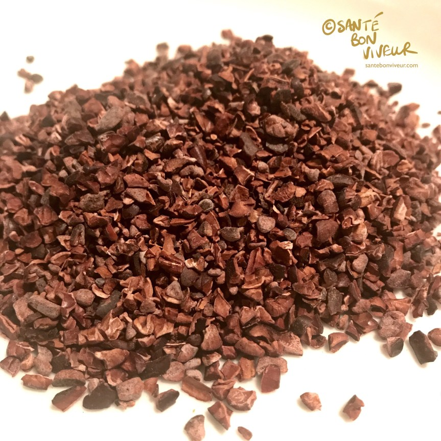 Cocoa nibs. Craft Chocolate Making