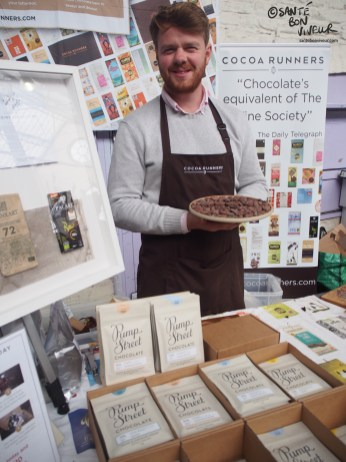 Cocoa Runners' stall at Abergavenny Food Festival, 2017