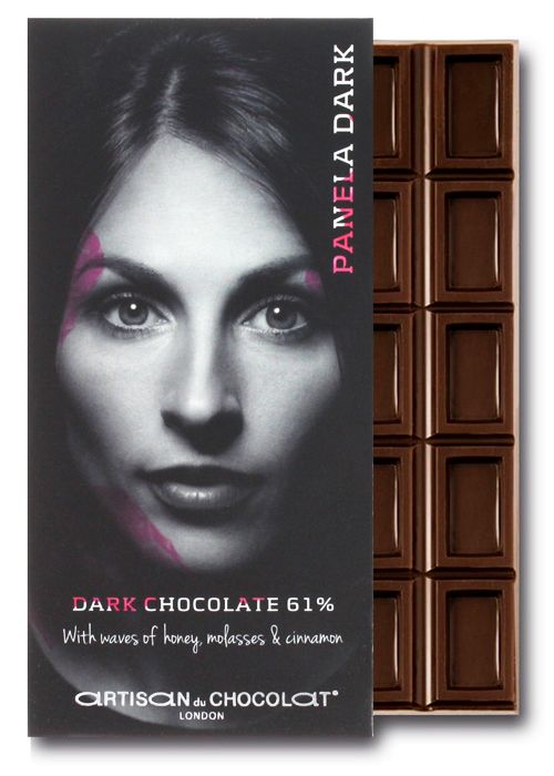 Artisan du Chocolat 61% dark chocolate bar sweetened with panela