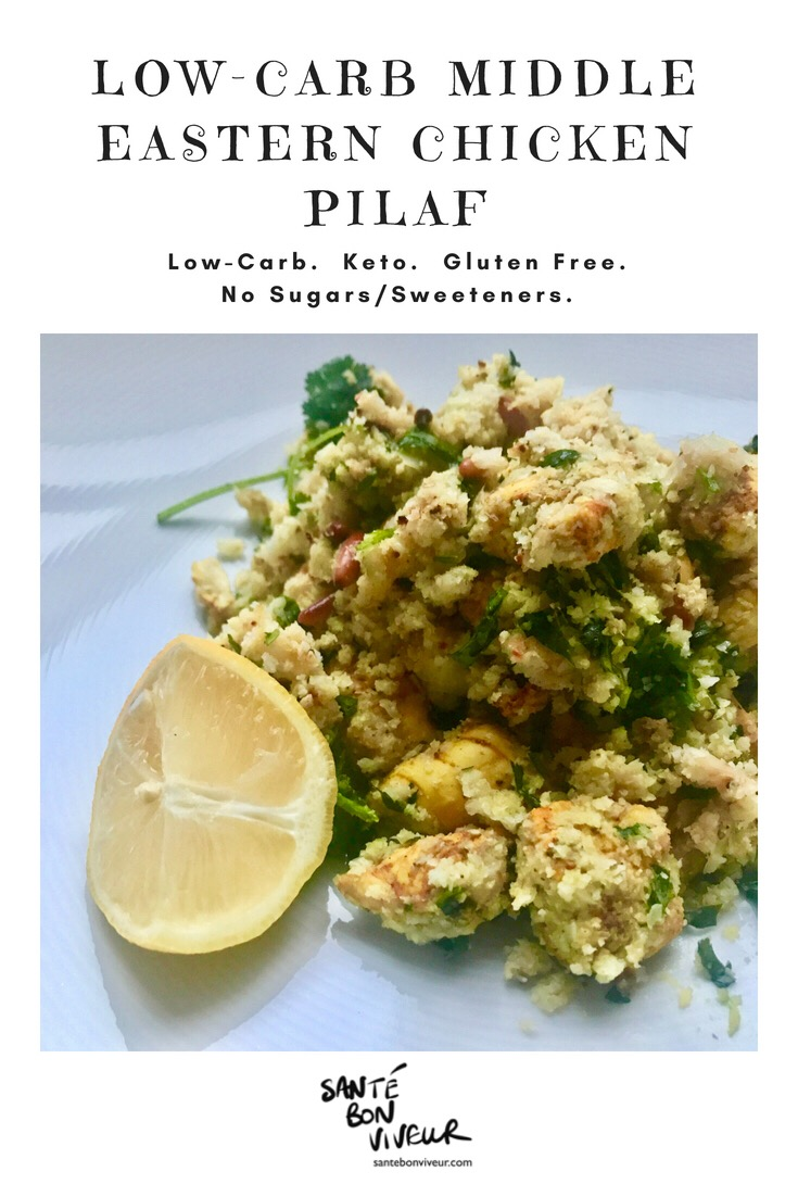 Low-Carb Middle Eastern Chicken Pilaf