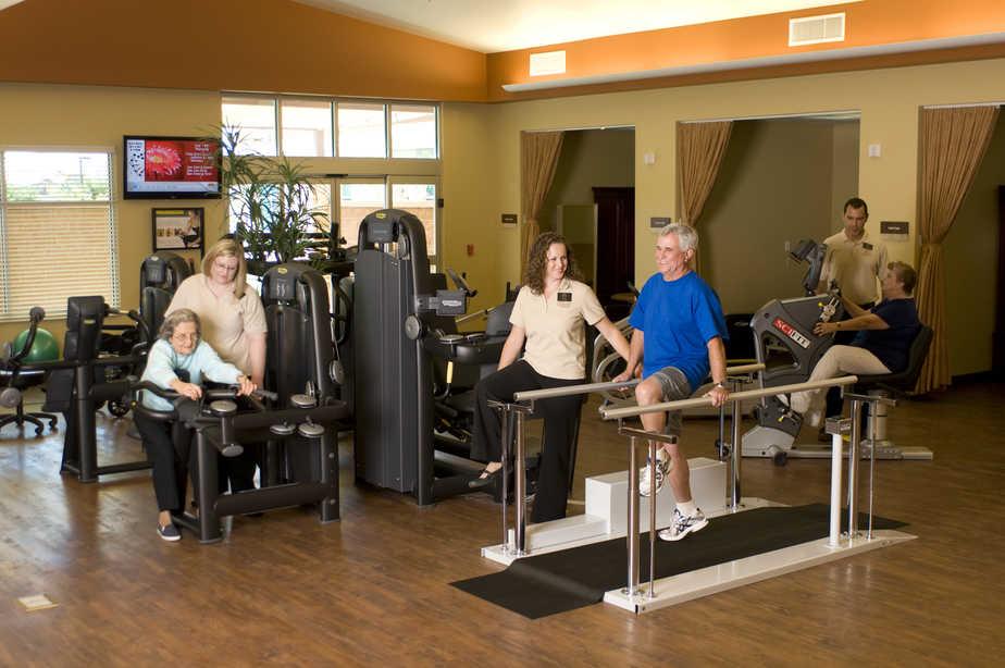 Short term rehab and acute rehab at Sant of Mesa