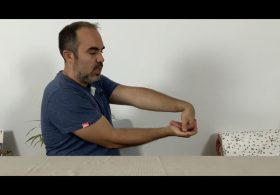 Algoneurodystrophie - étirement des avants-bras