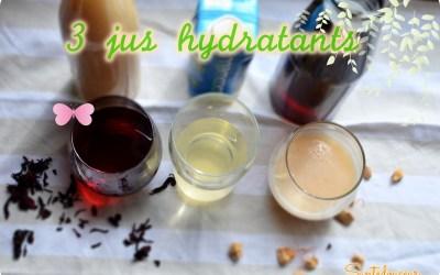 Ramadhanseries #3 :Boire et s'hydrater correctement : 3 boissons désaltérantes