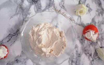 Chantilly (Vegan) : Crème de noix de coco