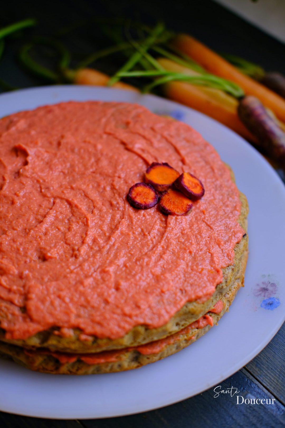carrot cake sans gluten