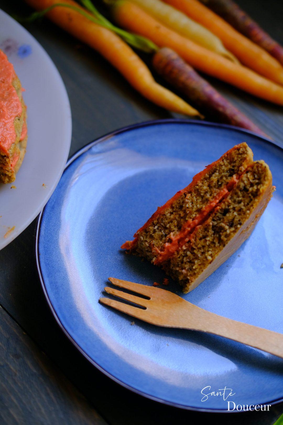 gateau à la carotte sans gluten