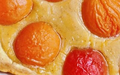 Tarte à l'abricot sans gluten/lait