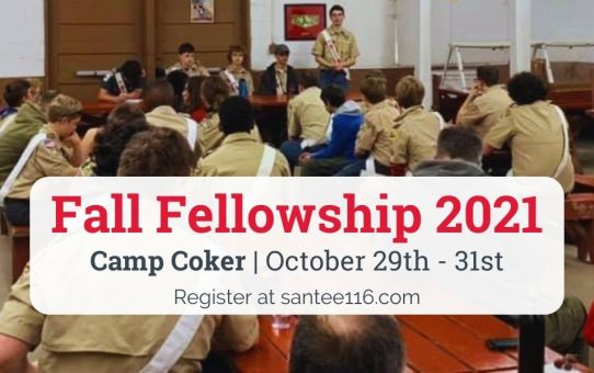 Fall Fellowship Registration