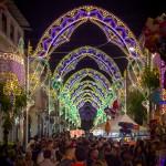 Via Iacoviello nella sera di Sant'Erasmo 2015