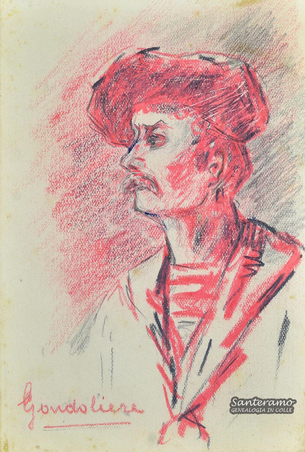 Francesco Netti, Ritratto di gondoliere
