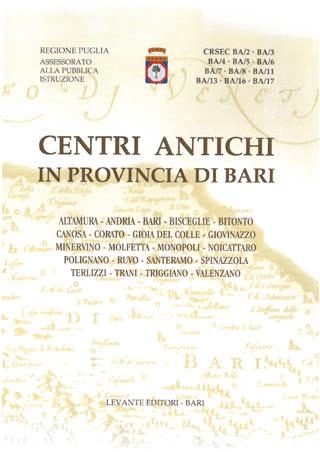 Centri antichi in provincia di Bari