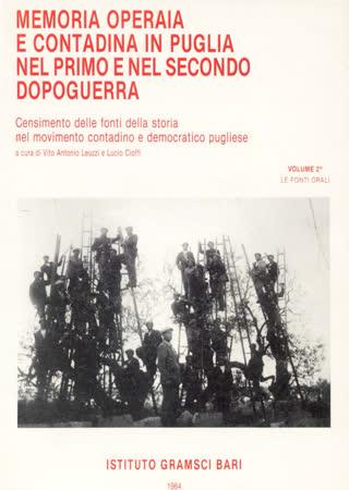 Memoria operaia e contadina in Puglia nel Primo e nel Secondo Dopoguerra