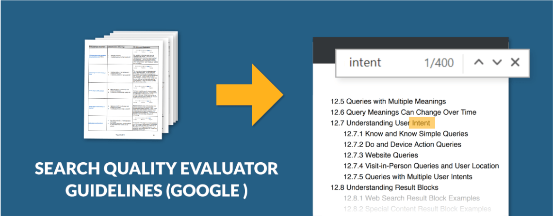 Google Search Quality Rater Guidelines