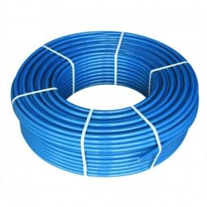Труба ПЭ32 D.25″ * 2,8 питьевая синяя (250м)