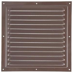 Вентиляционная  решетка МВМ200с 200*200 коричн. Виенто