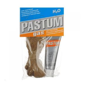Комплект монтаж PASTUM (газ) со льном+силикон 25гр. (М.)