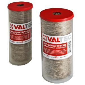 Нить сантехническая лен VALTEC для резьбовых соед (55м)