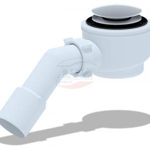 Ани (Е450СLG) Сифон Ани душ/под клик-клак грибок53мм 1 1/2″х50
