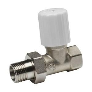 Клапан регулирующ. 1/2″ д/радиатора прямой (Aqualink) 10