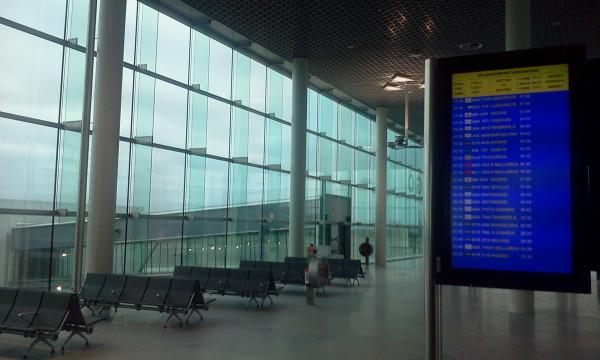 Se incrementa un 4,1% el volumen de pasajeros del aeropuerto de Santiago en el mes de Mayo