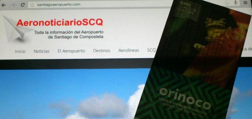 """Relación de ganadores del reto """"fidelidad al aeropuerto de Santiago de Compostela"""""""