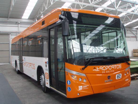 La Xunta de Galicia anuncia para fin de año el billete combinado tren y bus para llegar al aeropuerto