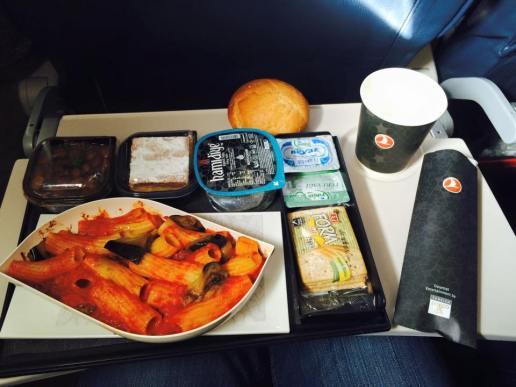 comida a bordo