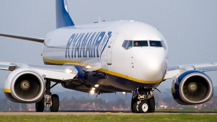 Ryanair vuelve a contraer su oferta de vuelos para el mes de octubre