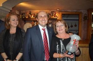 Madrina, Presidente y Camarera