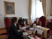Entrevista al jurista y político Landelino Lavilla (abril 2016)