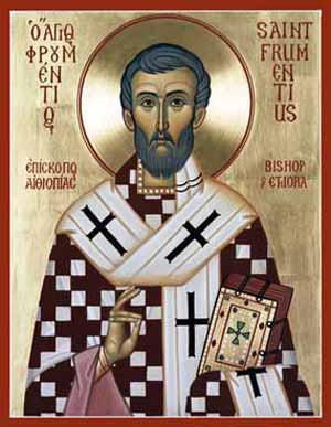 St. Frumentius, Apostle to Aksum