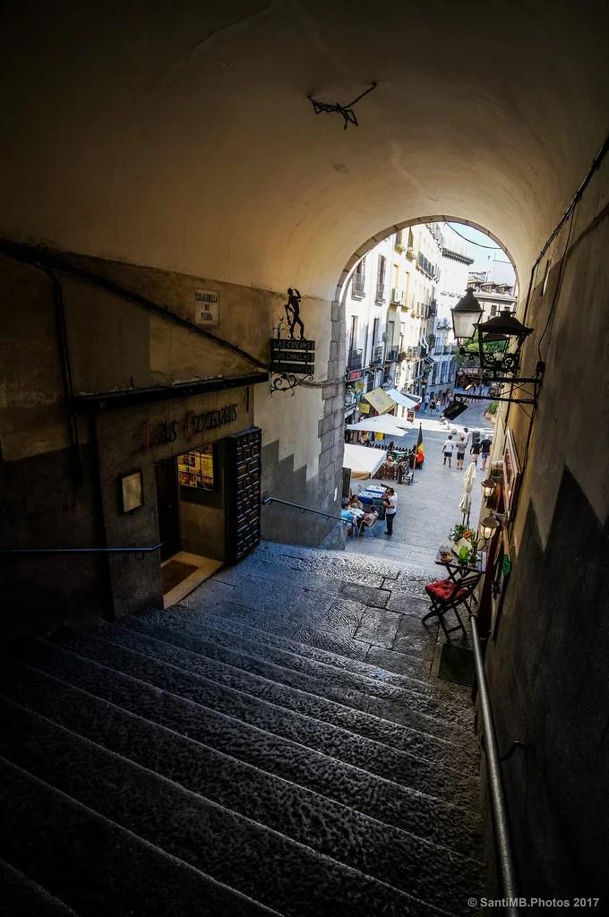 Escalerilla de piedra